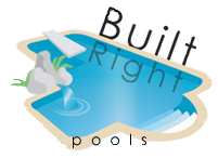 Built Right Pools logo