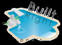 Built Right Pools logo